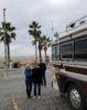 RV at Huntington beach