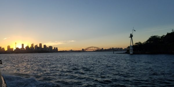 SunsetFromManlyFerry