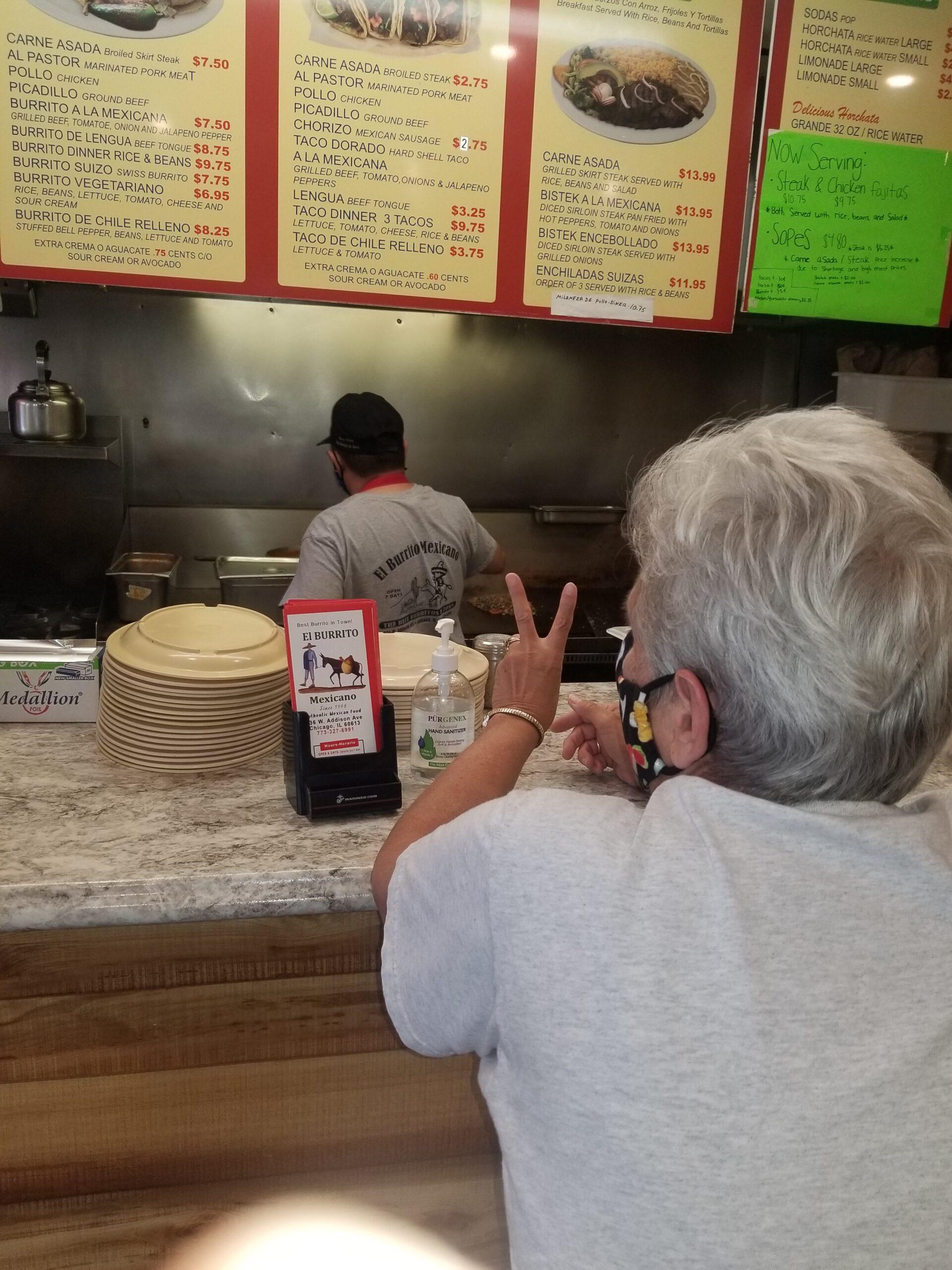 OrderingBurritos!